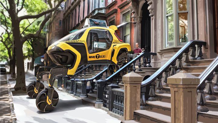 Hyundai Elevate als Taxi f%C3%BCr Behinderte