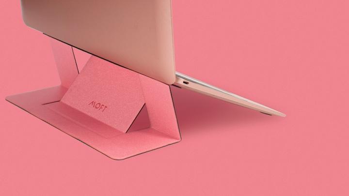 MOFT rosegold MacBook