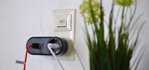 RAVPower USB Steckdose Kabel Pflanze 520x245