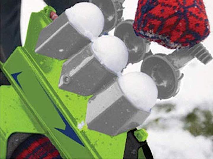 Schneeballpresse der Lulalula Schneeballpistole