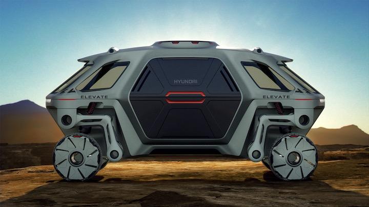 Seitenansicht des Hyundai Elevate