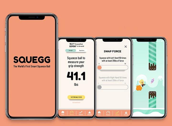 Squegg App iPhone