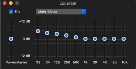 equalizer mehr b%C3%A4sse