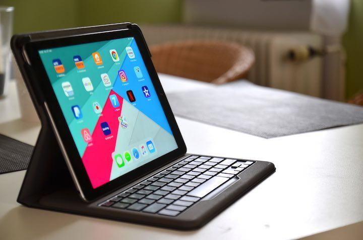 iPad Anker Bluetooth Tastatur