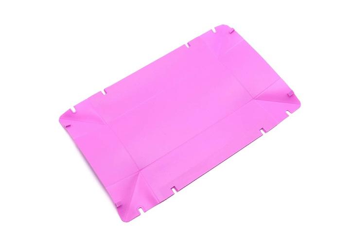 COOX Backform pink aufgefaltet