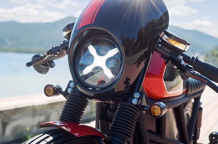 FLY FREE Motorrad Scheinwerfer