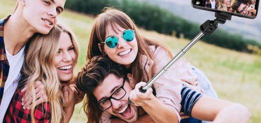 Menschen ELEGIANT Selfiestick 520x245