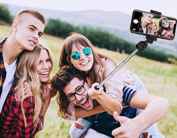 Menschen ELEGIANT Selfiestick