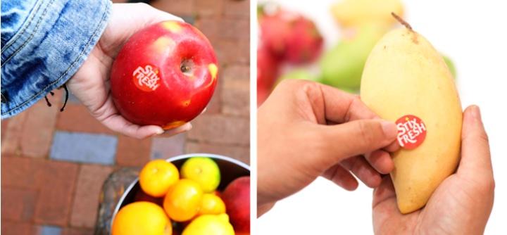 StixFresh auf Apfel und Mango