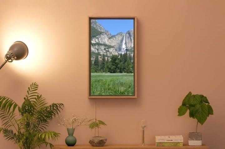 Atmoph Window 2 Pflanze Lampe 1