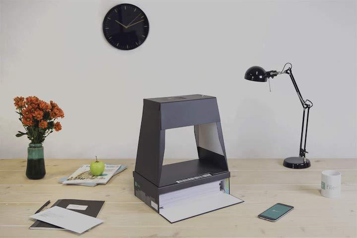 fileeeBox 2.0 auf Schreibtisch