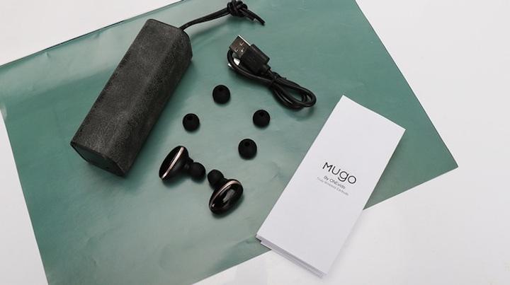 Mugo Touch schwarz Lieferumfang