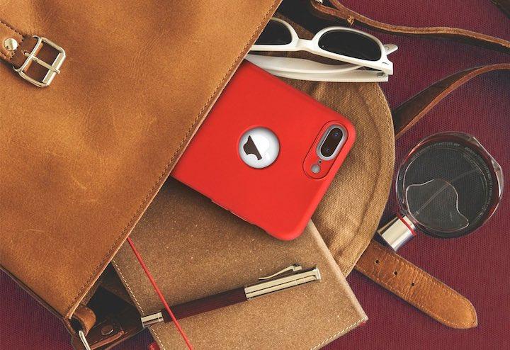 kwmobile iPhone H%C3%BClle Tasche Stift Sonnenbrille