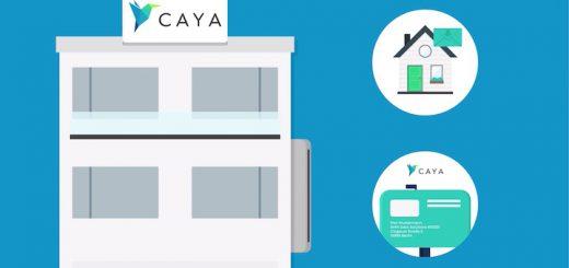 CAYA empfängt Post 520x245