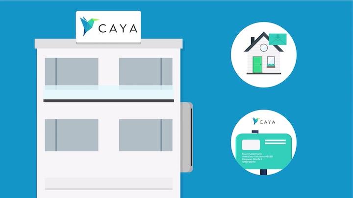 CAYA empfängt Post