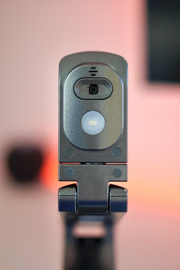 Kamera von einem Scanner mit LED Licht