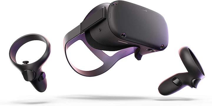 Oculus Quest mit Touch Controllern