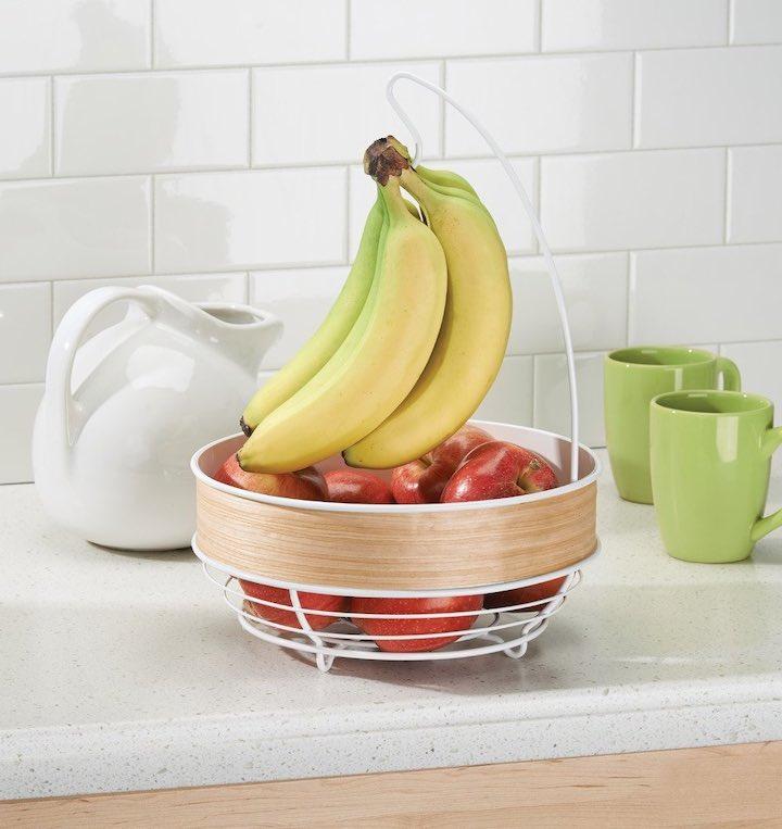 iDesign Obstschale Banane Apfel Tassen