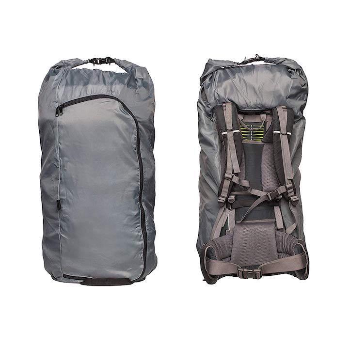 journext regenschutz und flightbag in einem