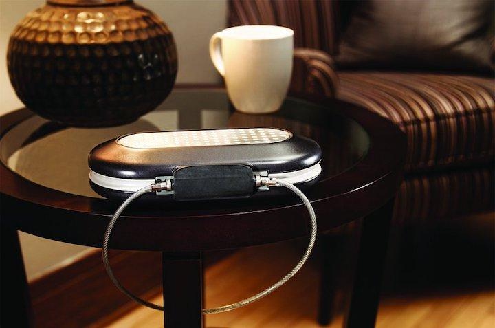 Masterlock Reisesafe Lampe Tisch