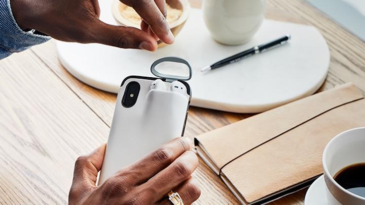 Power1 iPhone Case Airpods H%C3%A4nde Stift