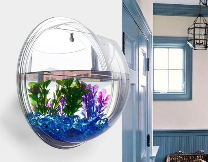 h%C3%A4ngendes Aquarium T%C3%BCr Lampe