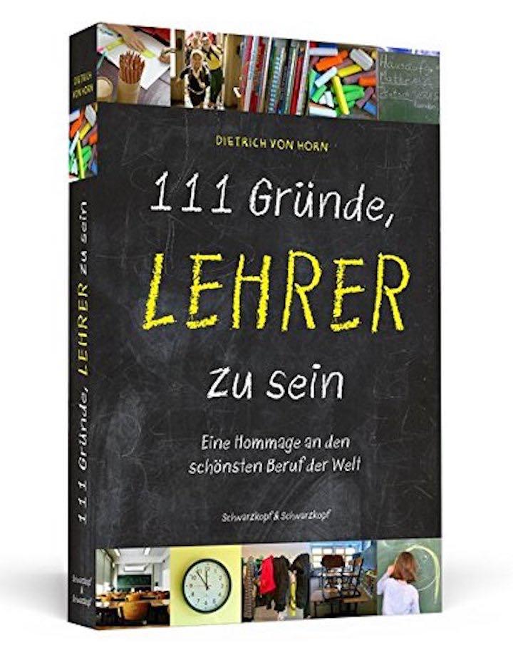Buch 111 Gr%C3%BCnde Lehrer zu sein