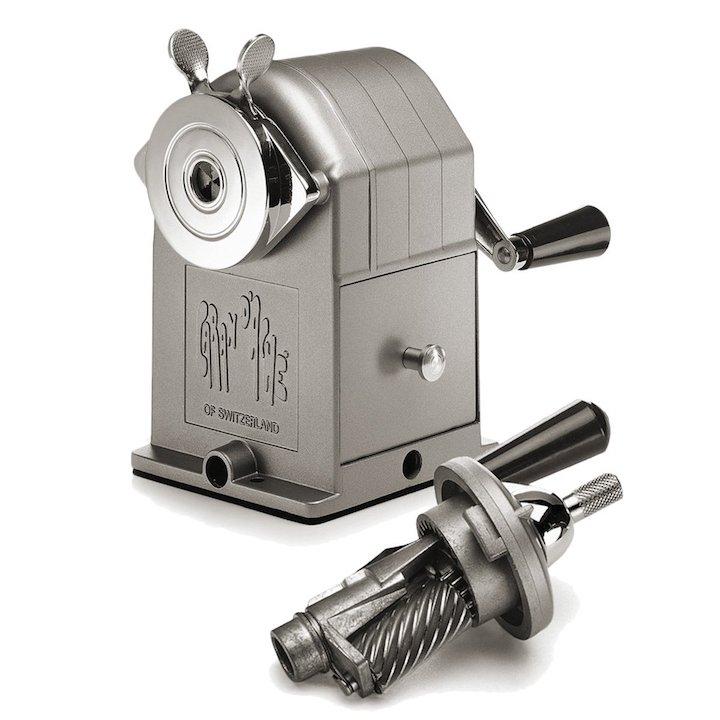 Spitzmaschine f%C3%BCr Bleistifte aus Metall