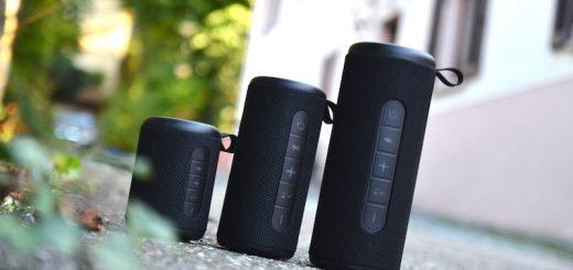 drei größen peaq lautsprecher serie 520x245