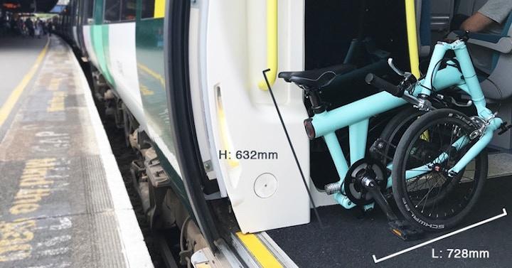 FLIT 16 E Bike zu Falten Maa%C3%9Fe