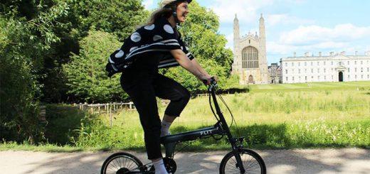 FLIT 16 E Bike zu Falten in der Stadt 520x245