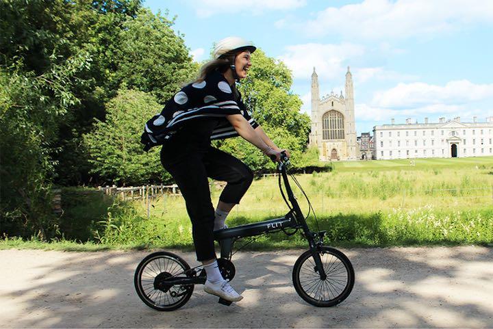 FLIT 16 E Bike zu Falten in der Stadt