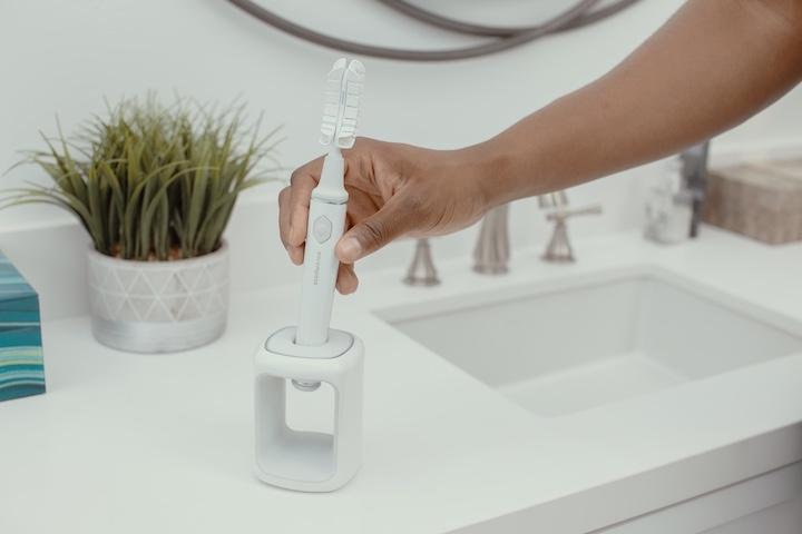 Hand Waschbecken Pflanze Encompass Zahnb%C3%BCrste