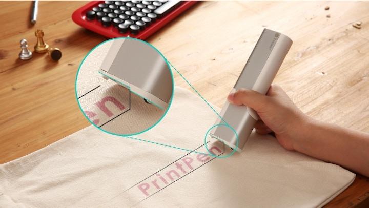 PrintPen Stoff Hand Tastatur