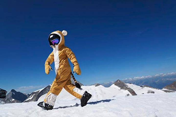 WeeDo Funwear Monkey Schnee Kind
