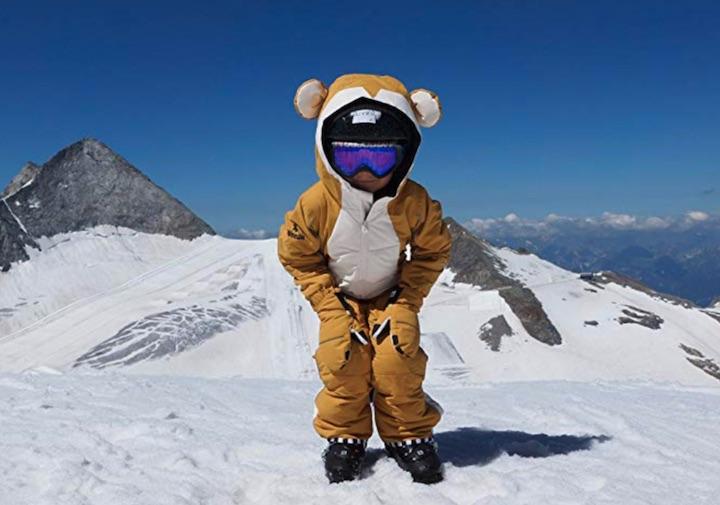 WeeDo Funwear Monkey Schneeanzug Kind Schnee Berge
