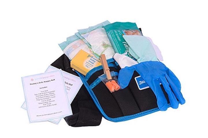 Babywickel Werkzeugg%C3%BCrtel Windel Handschuhe Ohrst%C3%B6psel Seife