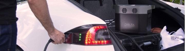 DELTA l%C3%A4dt Elektroauto