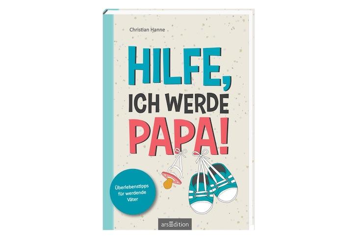 Hilfe ich werde Papa Buch Cover