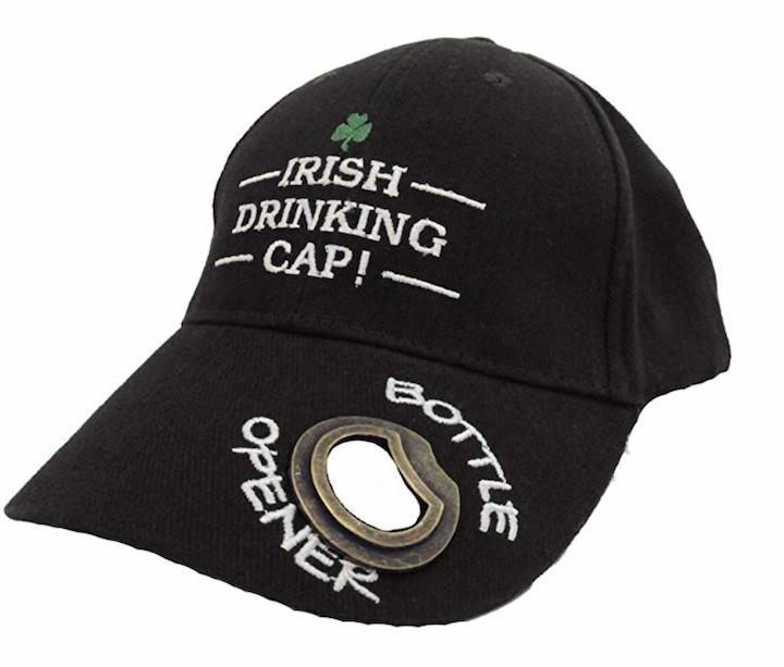 Irish Drinking Cap mit Flaschen%C3%B6ffner