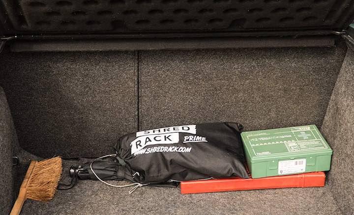 Kofferraum Handfeger ShredRack