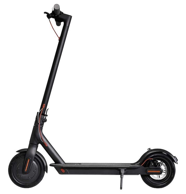 Mi Elektro Scooter Seitenansicht