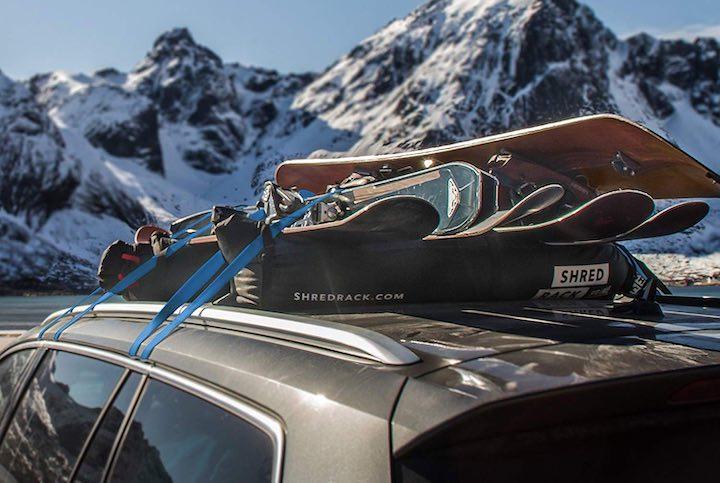 ShredRack Auto Berge Snowboard
