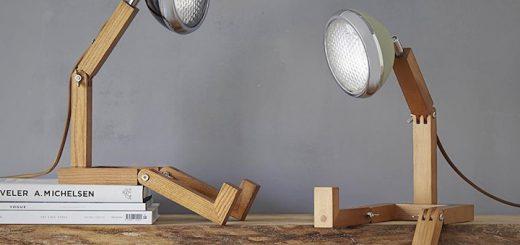 Zwei Mr. Wattson G9 LED Lamps auf Holzbrett 520x245
