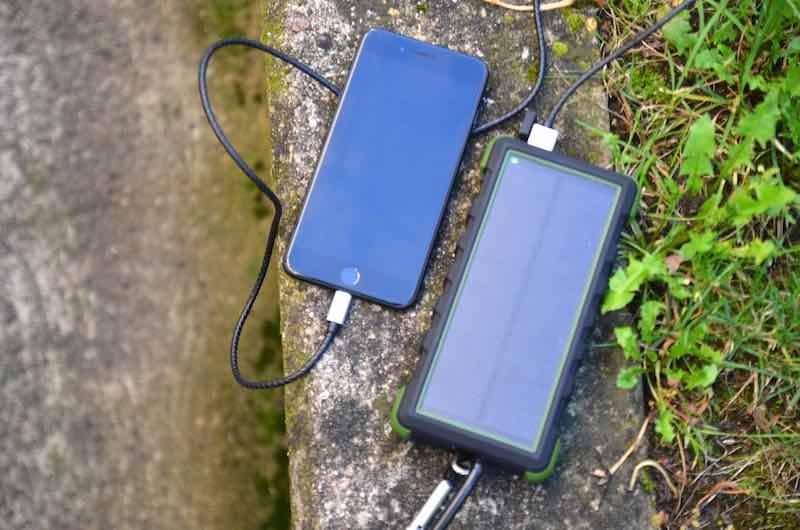 outdoor powerbank sola