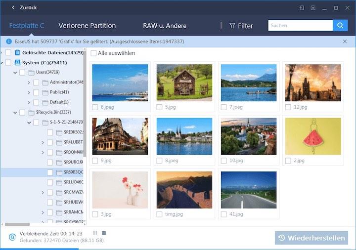 EaseUS Software Bilder
