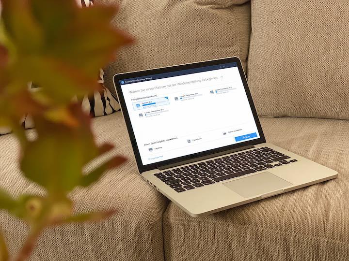 EaseUS Software Mac Sofa Pflanze