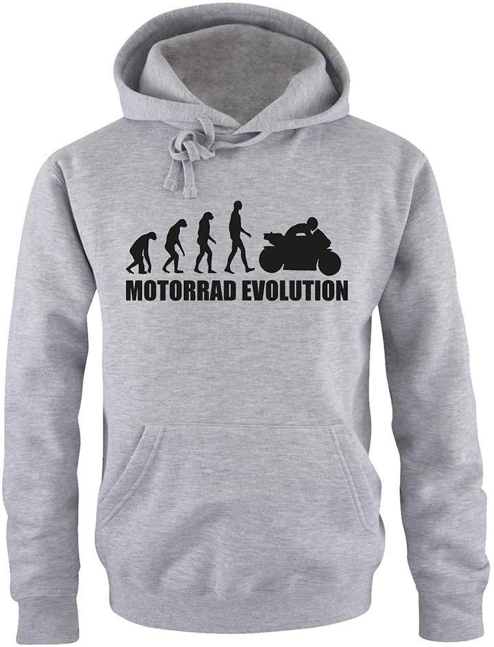 Evolution Motorrad Hoodie