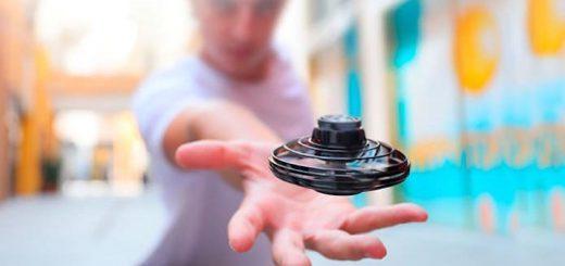 FlyNova Fidget Spinner Mann Hand 520x245