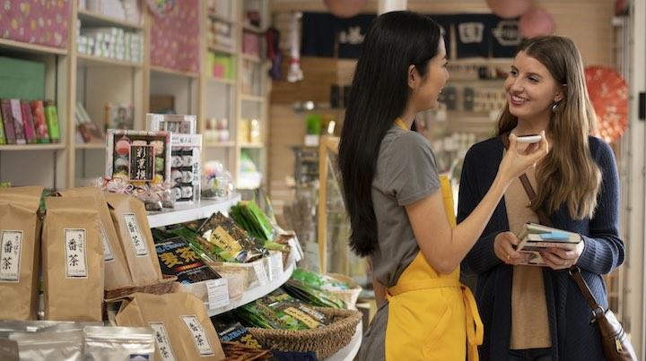 Frauen Ladengesch%C3%A4ft Pocketalk